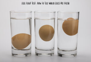 Egg Float Test: How to Tell Which Eggs Are Fresh